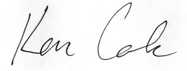Ken Cole Signature